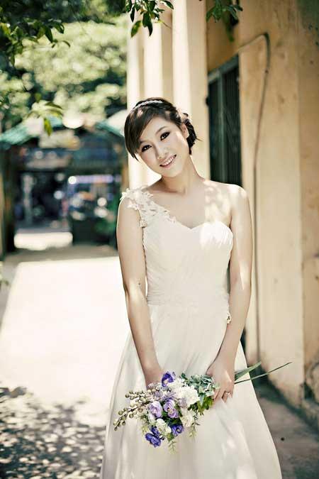 các kiểu trang điểm cô dâu đẹp