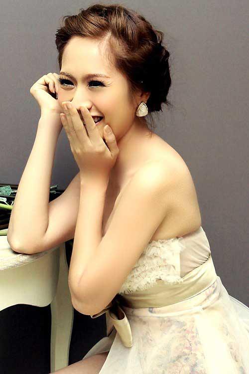 trang điểm cô dâu tự nhiên như Thanh Thúy