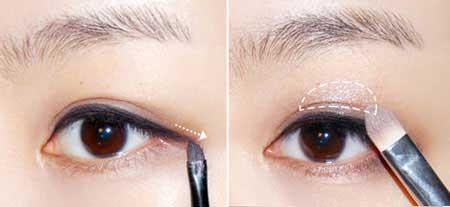 Trang điểm mắt Hàn Quốc