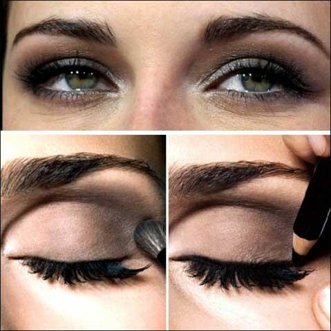 Trang điểm mắt khói