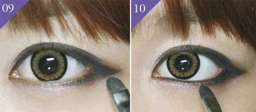 trang điểm mắt mèo