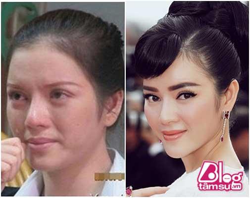mặt thật của sao Việt khi không trang điểm
