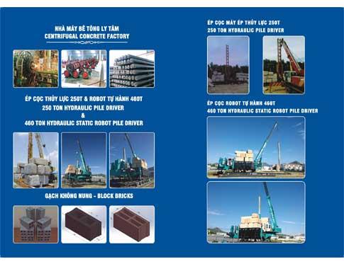 Công ty sản xuất ống cống bê tông ly tâm