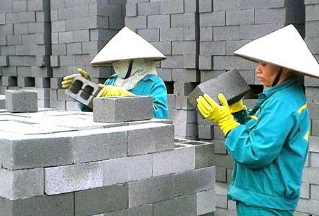 Thị trường gạch không nung ở Việt Nam
