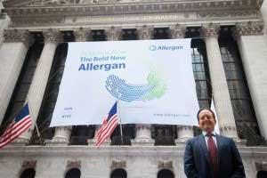 CEO tập đoàn dược phẩm Allergan