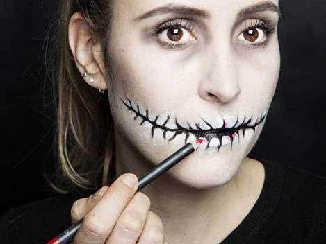 Trang điểm Halloween đơn giản