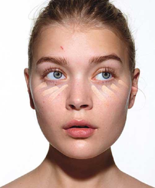 Trang điểm khuôn mặt