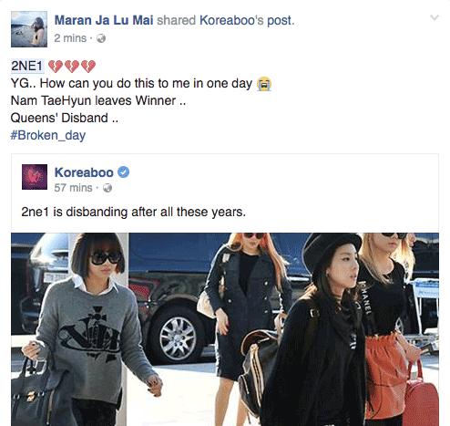 2NE1 chính thức tan rã, fan toàn thế giới chết lặng