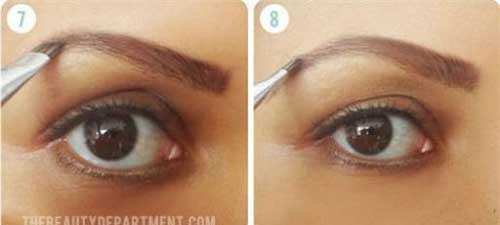 Cách trang điểm lông mày