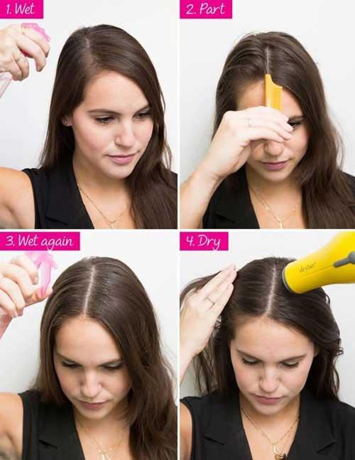 Trang điểm tóc
