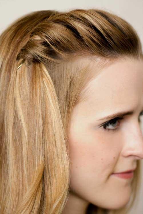 Trang điểm làm tóc đơn giản