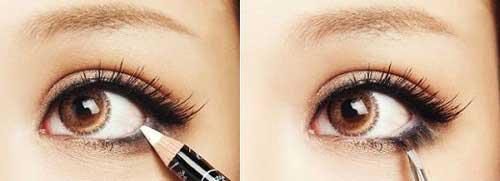 Cách trang điểm làm mắt to