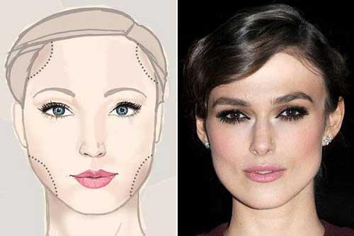 Cách trang điểm phù hợp với khuôn mặt