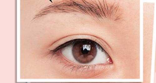 Cách trang điểm bằng mắt nước