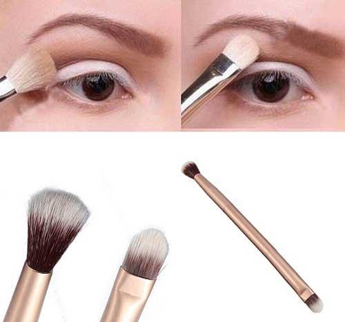 Cách trang điểm cho cô nàng mắt một mí - Mở mắt khi trang điểm