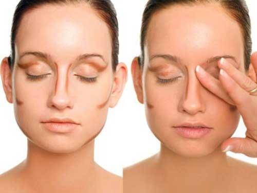 Cách trang điểm làm cho sống mũi cao
