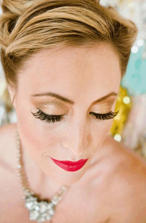 Cách trang điểm mắt cho cô dâu