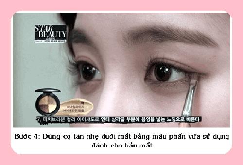 Trang điểm mắt kiểu Hàn Quốc