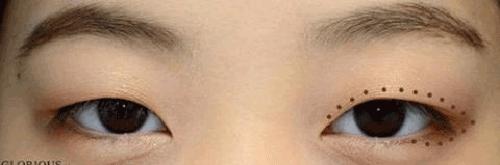 Cách trang điểm cho mắt hí