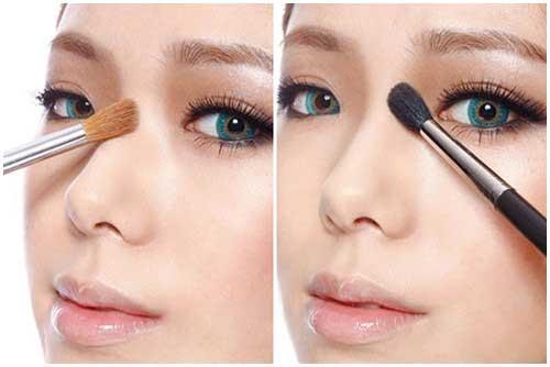 Cách trang điểm mũi đẹp