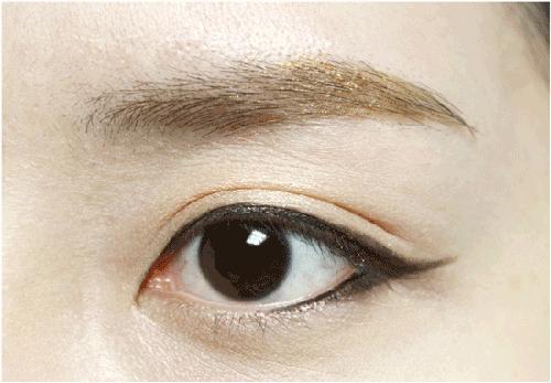 Trang điểm mắt giống Ji Yeon