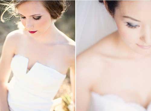 Trang điểm mắt khói cho cô dâu