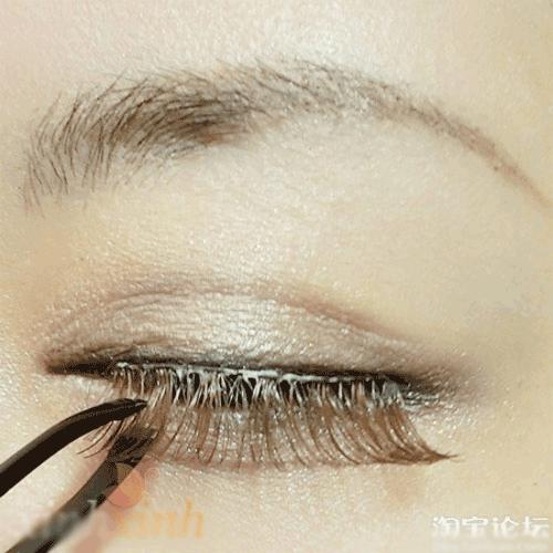 Trang điểm mắt nhũ