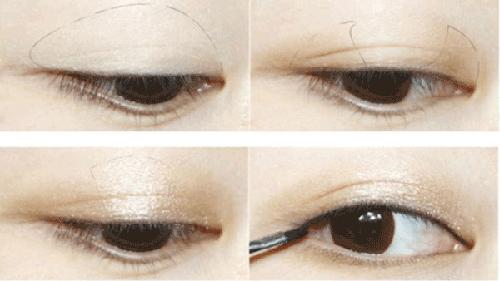 Cách trang điểm cho mắt nhiều mí