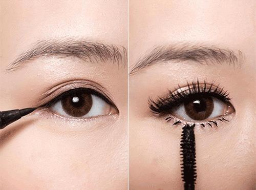 Cách trang điểm mắt hiền