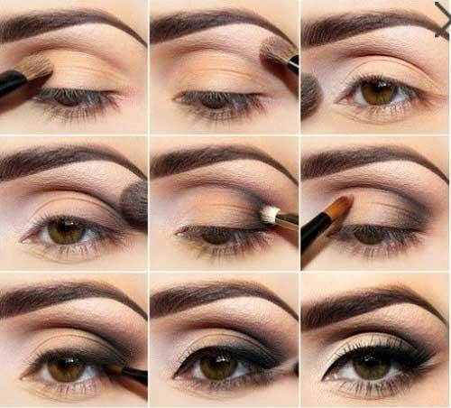 Cách trang điểm smoky eyes