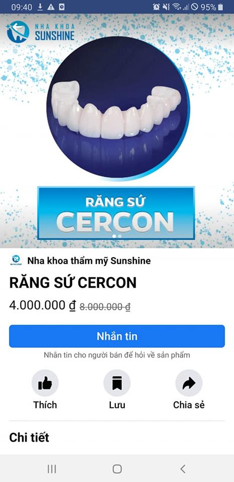 so sánh răng sứ cercon và ceramill